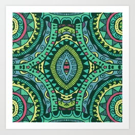 Spearmint Art Print