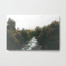 Misty Rivers Metal Print