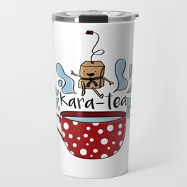 Karate Kara Tea Teabag Present Gift Cup Travel Mug