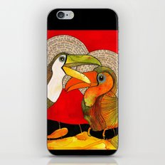 Toucans iPhone & iPod Skin