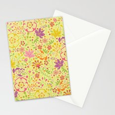 Oriental Blooms Stationery Cards