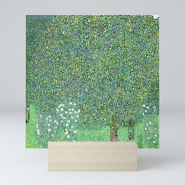 Rosebushes under the Trees by Gustav Klimt Mini Art Print