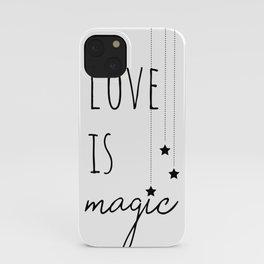 Love is Magic iPhone Case