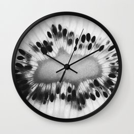 kiwi art Wall Clock