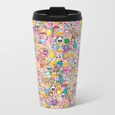 emoji / emoticons Travel Mug