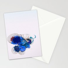 I hate the silence Stationery Cards