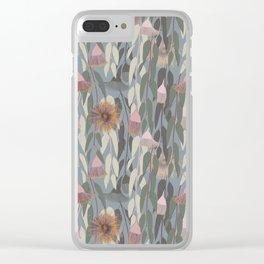 Flowering eucalyptus, australian flora Clear iPhone Case