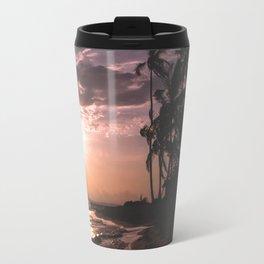 Sunset beach. San Blas, Panama Travel Mug