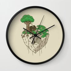 Lonely heart Wall Clock