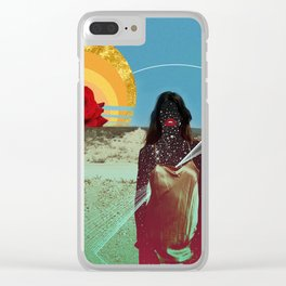 Must Have Been the Roses Clear iPhone Case