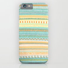 Mad Scribbles (coloured version) iPhone 6s Slim Case