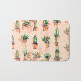 cactus illusion Bath Mat