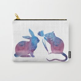 Rat And Rabbit Carry-All Pouch