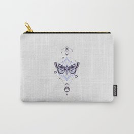 Moth Totem Carry-All Pouch