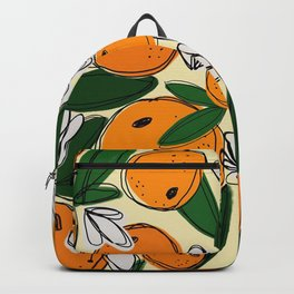 Oranges in Bloom Backpack