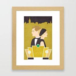 What Gatsby? Framed Art Print