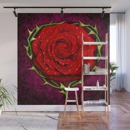 Dangerous Rose  Wall Mural
