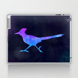 ROADRUNNER IN SPACE // Animal Graphic Art // Watercolor Canvas Painting // Modern Minimal Cute Laptop & iPad Skin