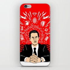 Twin Peaks: Dale Cooper's Thoughts iPhone & iPod Skin