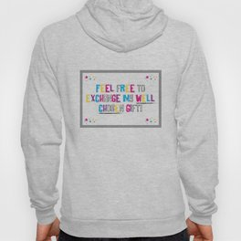 Sarcasm is coming to town! Hoody
