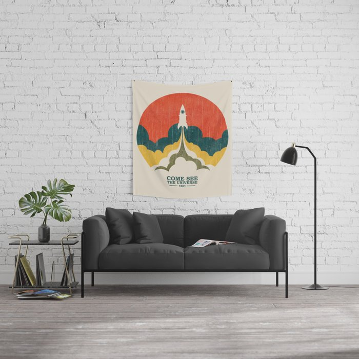 Come See The Universe Wall Tapestry