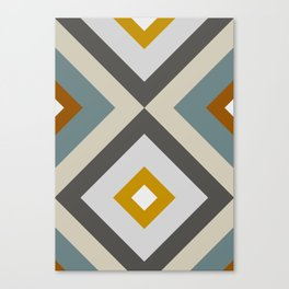 Mid West Geometric 04 Canvas Print