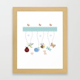 Buggles of Fun Framed Art Print