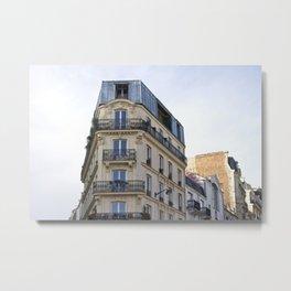 Living in Paris Metal Print
