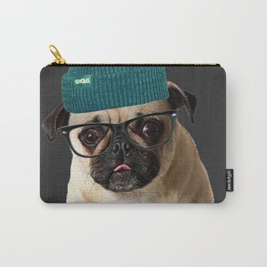 Pug Life ( Hipster ) Carry-All Pouch