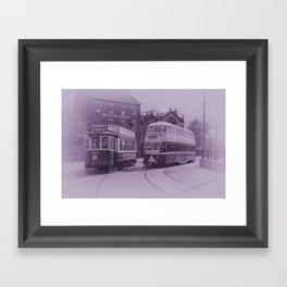 Classic Trams Framed Art Print