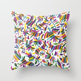 mexicanish Throw Pillow