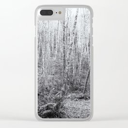 Cottonwoods in the Forest Clear iPhone Case