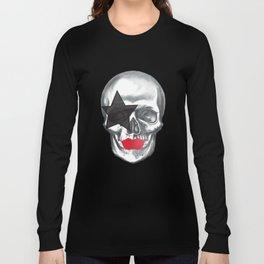 Starchild-KISS skull Long Sleeve T-shirt