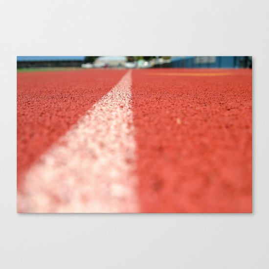 Track Line Canvas Print