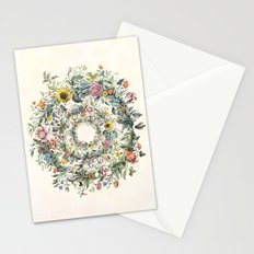 Circle of Life Cream Stationery Cards