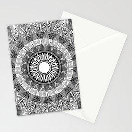 Mandala I BW Stationery Cards