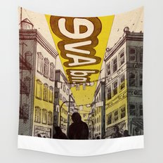 Street Name Wall Tapestry
