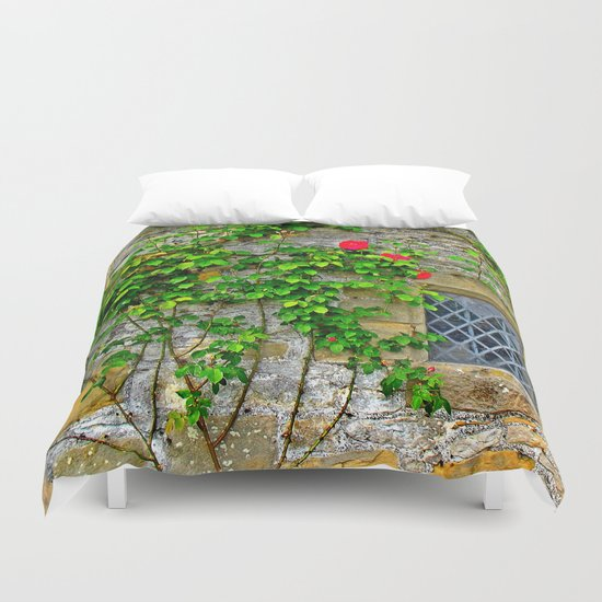 English Castle Duvet Cover