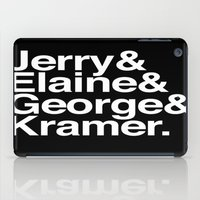 seinfeld iPad Cases featuring Nothing. by Mike D.