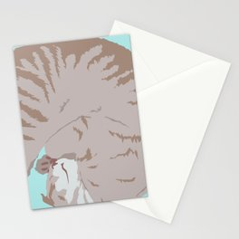 Buff Tiger Stationery Cards
