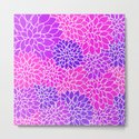 Shades Of Purple - Bright Floral Pattern - Flower Art by cudgeart