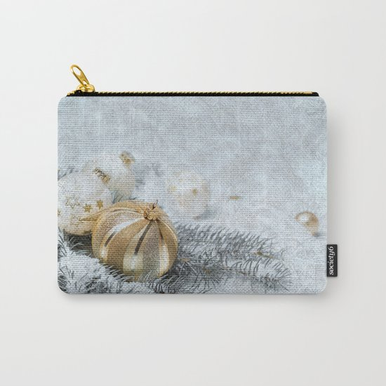 Silver gold ornaments Carry-All Pouch