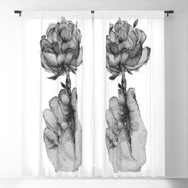 Spring Feels / bnw Blackout Curtain