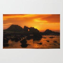 Rocky Sunset Rug