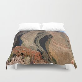 The Goosnecks - A Meander Of The San Juan River Duvet Cover