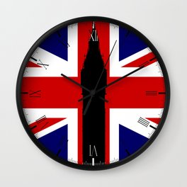 Union Flag Big Ben Wall Clock