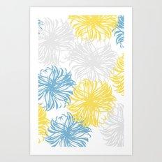cool breezy dandies Art Print