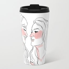 Kiss me Travel Mug