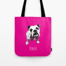 Pink Bowser Tote Bag