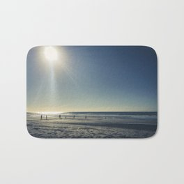 Cricket on the Beach Bath Mat